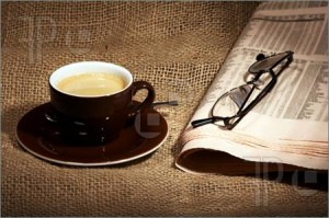 Cup-Coffee-Newspaper