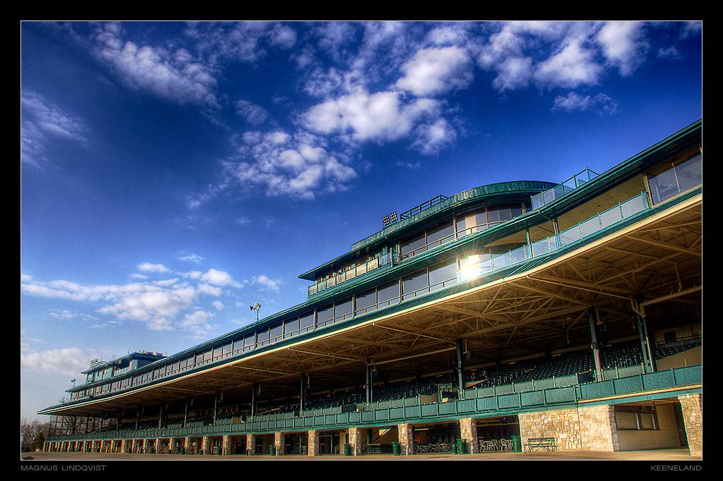 Keeneland Grandstand 2