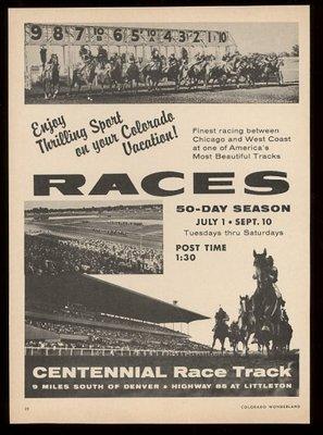 Centennial Track Ad
